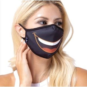 Accessories - Funny Lips Designer Face Masks